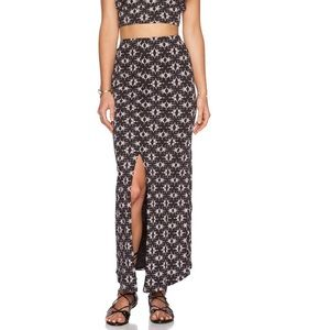 Women's Free People Slitted Maxi Skirt Size S
